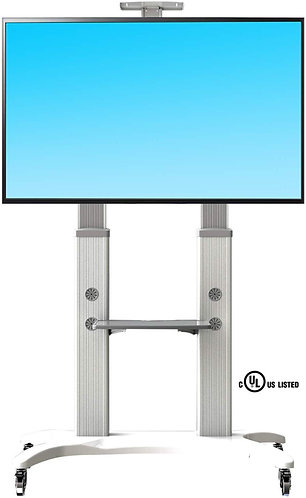 North Bayou Mobile TV Cart TV Stand with Wheels AVF1800-70-1P