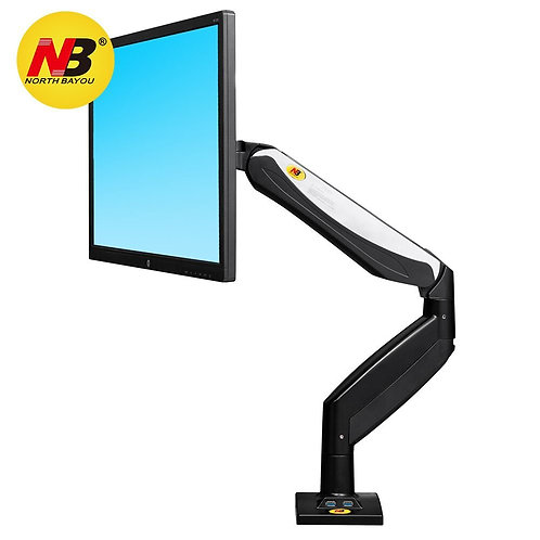 North Bayou Monitor Desk Mount Stand Full Motion Monitor Arm F85A