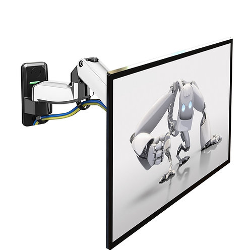North Bayou Flexi Full Motion Articulating Gas Spring Wall Mount F150