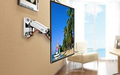 North Bayou Universal Full Motion Articulating Gas Spring TV Wall Mount F120
