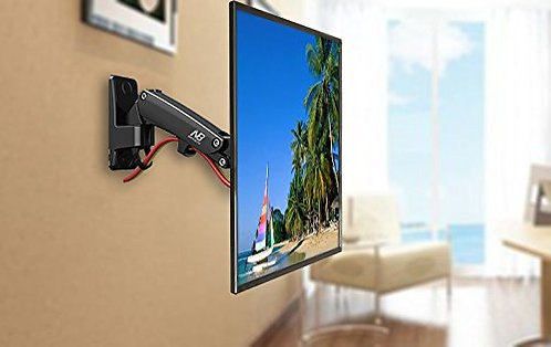NB Universal Full Motion Articulating Gas Spring Wall Monitor TV Mount F200