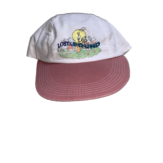 TWEETY BIRD CAP WHITE