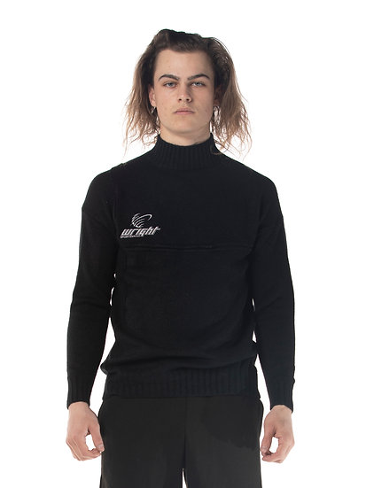 GLOBAL SWEATER BLACK