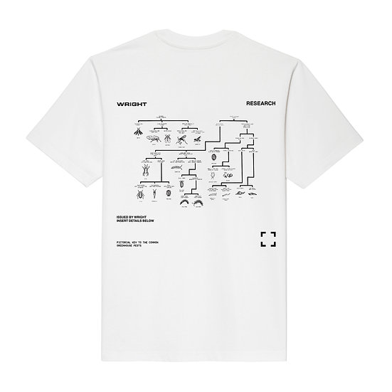 GREENHOUSE PESTS T-SHIRT WHITE