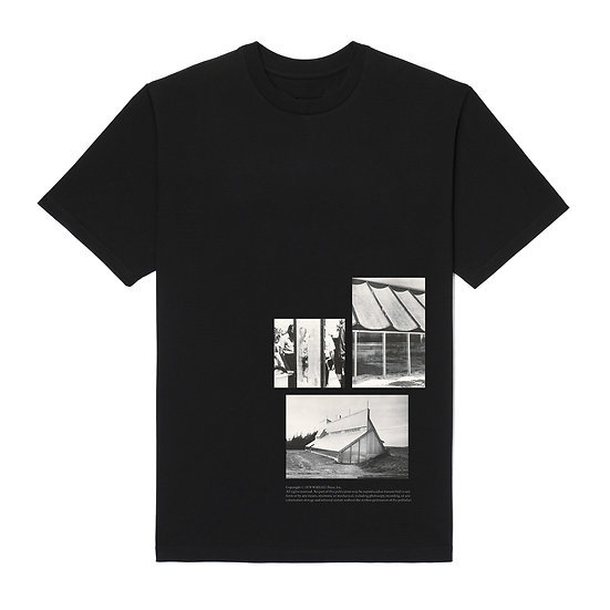 GREENHOUSE ARCHITECTURE T-SHIRT BLACK