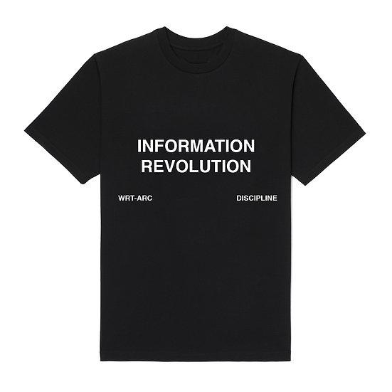 INFORMATION T-SHIRT BLACK