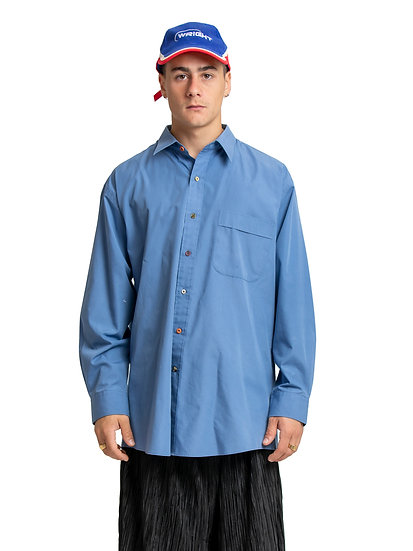 Button-Down Shirt Blue