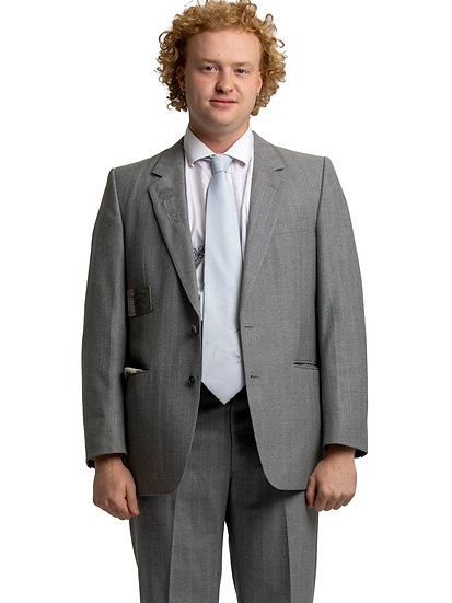 Atle's Grey Two Piece Suit