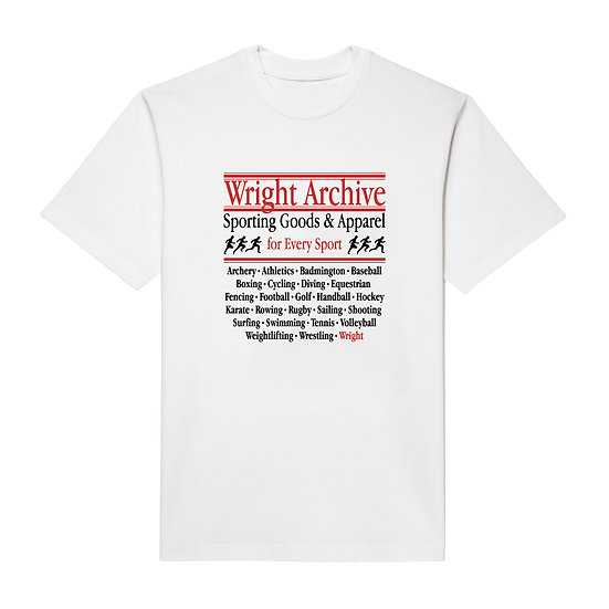 """EVERY SPORT"" T-SHIRT WHITE"