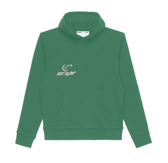 GLOBAL HOODED SWEATSHIRT BOTTLE GREEN