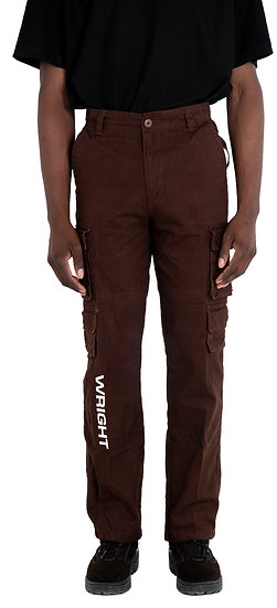 WRIGHT CARGO PANTS BROWN