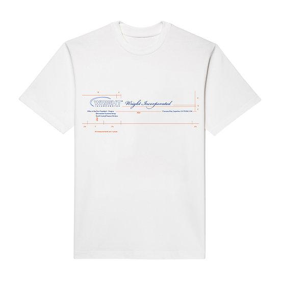 LETTERHEAD T-SHIRT WHITE