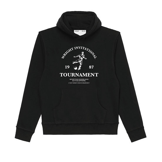 INVITATIONAL HOODED SWEATSHIRT BLACK