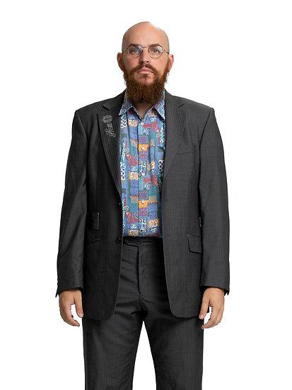 Chris' Grey Two Piece Suit