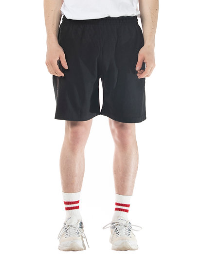 LONG DISTANCE RUGBY SHORTS BLACK