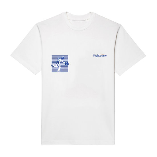 DON'T BE LATE! T-SHIRT WHITE