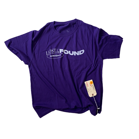 UNBRANDED BLANK T-SHIRT PURPLE