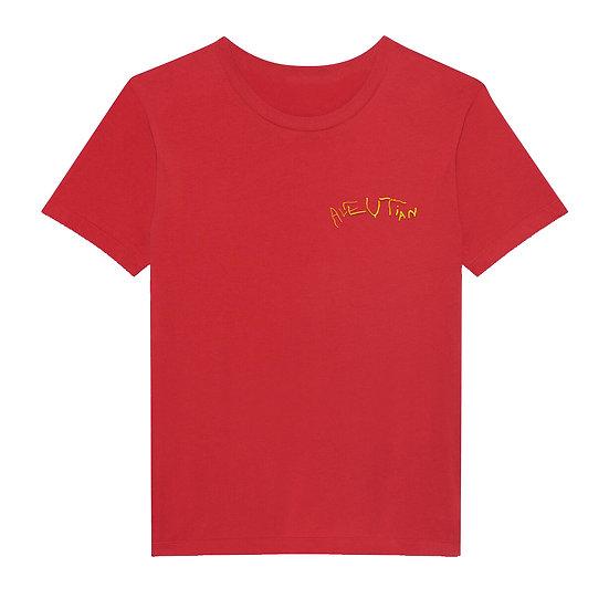 ALEUTIAN BABY T-SHIRT RED