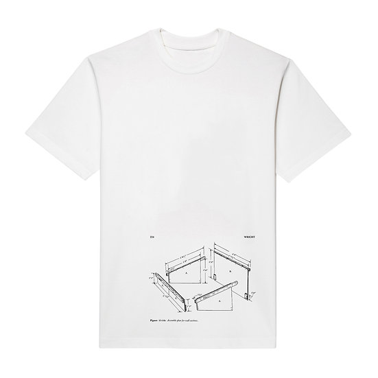 ASSEMBLE PLAN T-SHIRT WHITE