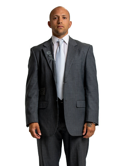 Timo's Grey Two Piece Suit