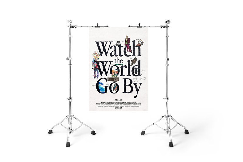 WATCH THE WORLD GO BY THEATRICAL RELEASE POSTER 3