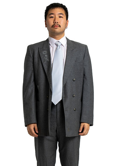 Tam's Grey Two Piece Suit