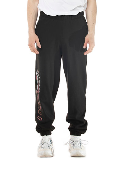 LONG DISTANCE SWEATPANTS BLACK