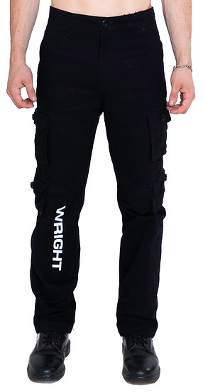 WRIGHT CARGO PANTS BLACK