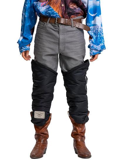 Padded Gaiter Pants Grey