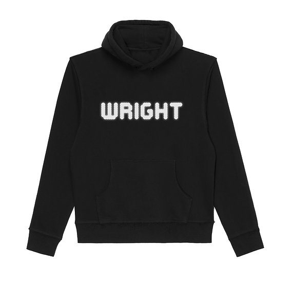 WRIGHT PICTURES HOODED SWEATSHIRT BLACK
