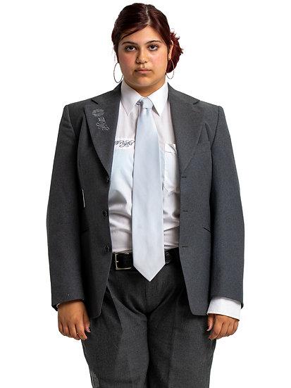 Gemma's Grey Two Piece Suit