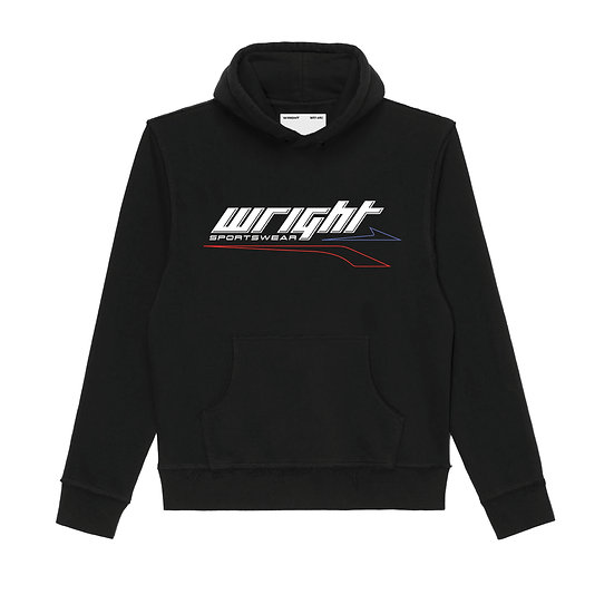MERCURIAL HOODED SWEATSHIRT BLACK