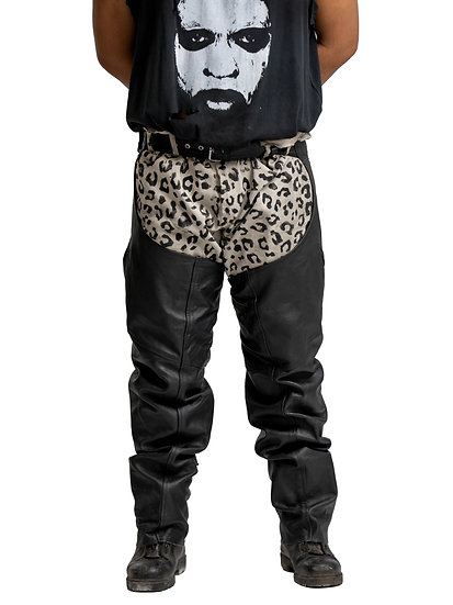 Leather Chap-Pant Hybrid