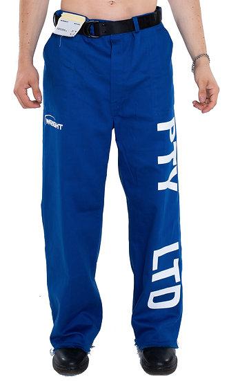 'PTY LTD' WORKWEAR PANTS BLUE