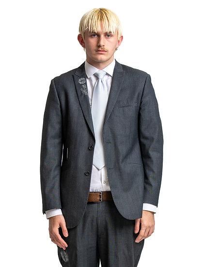 Zach's Grey Two Piece Suit