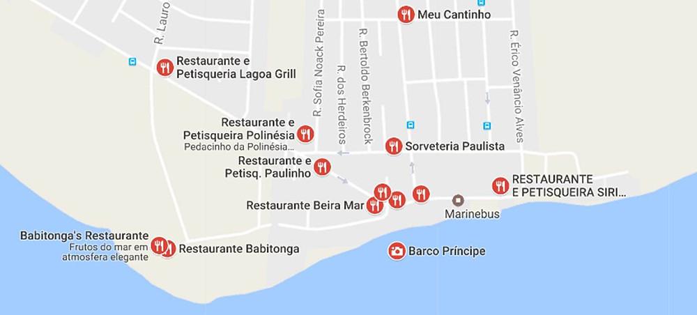 Frutos do Mar em Joinville