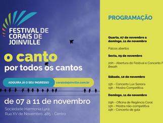 1° Encontro de Corais de Joinville