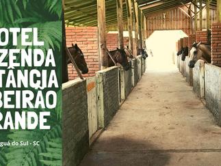 Hotel Fazenda Estância Ribeirão Grande em Jaraguá do Sul