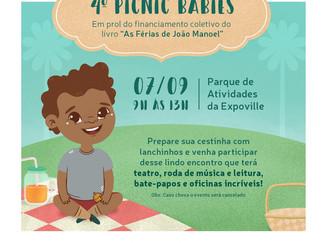 Evento Fofinho em Joinville! Picnic e Aprendizado!