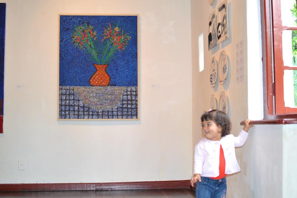 Sofia no Museu de Artes de Joinville