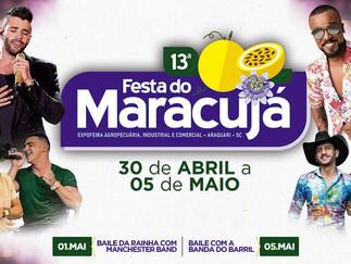 Festa do Maracujá em Araquari!