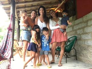 Praia do Rosa com os pequenos!