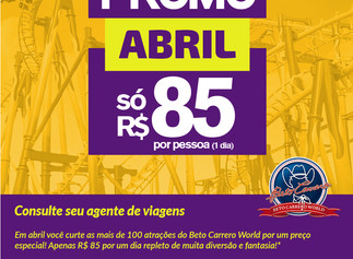 Beto Carrero tem Promoção o Ano Inteiro!!!! : )