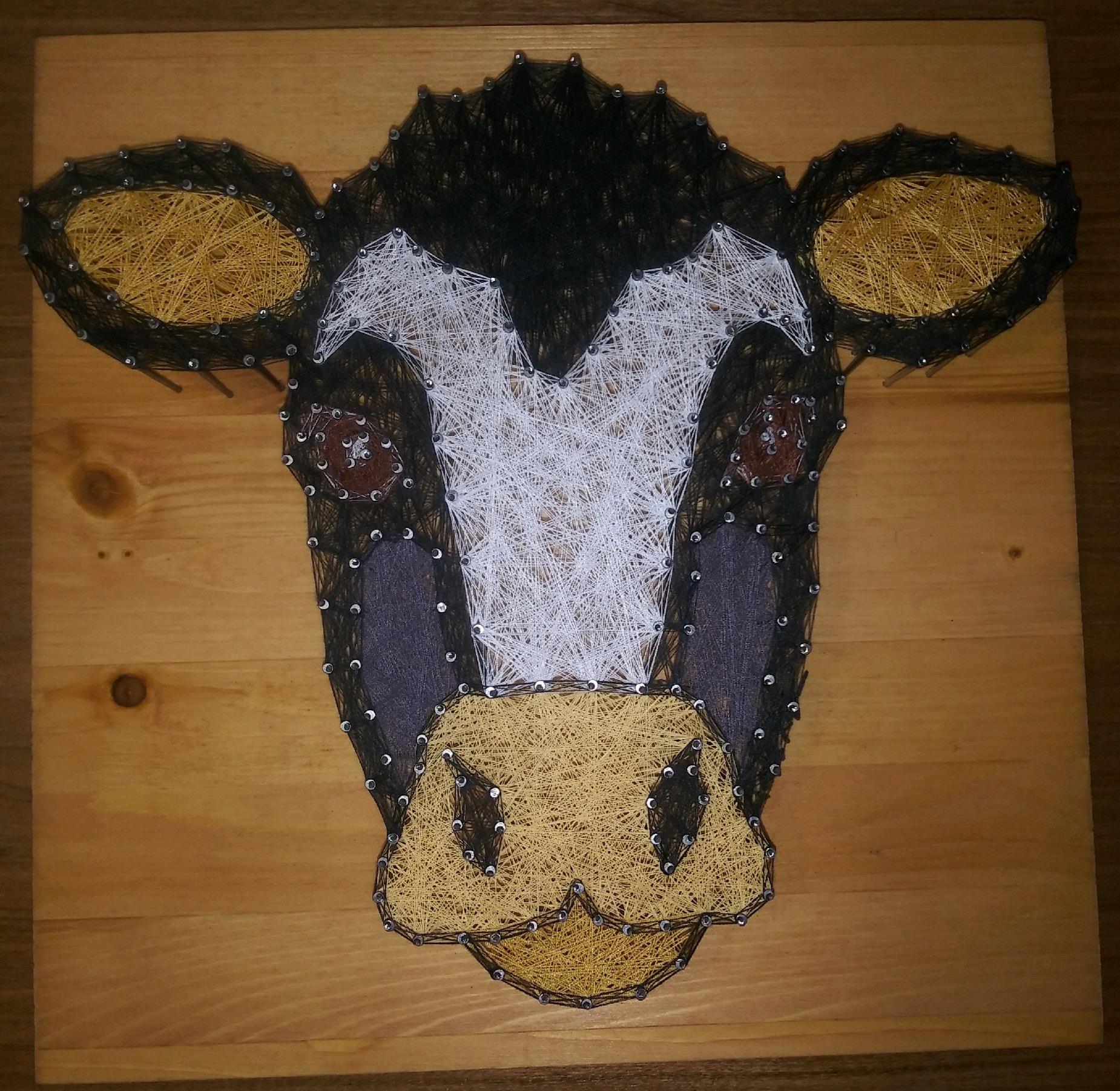 12x12 Cow