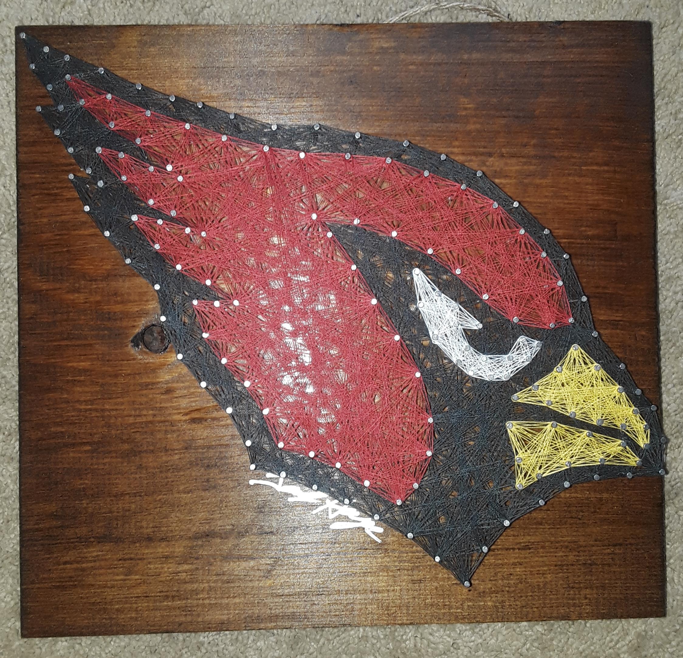 16x16 Cardinals