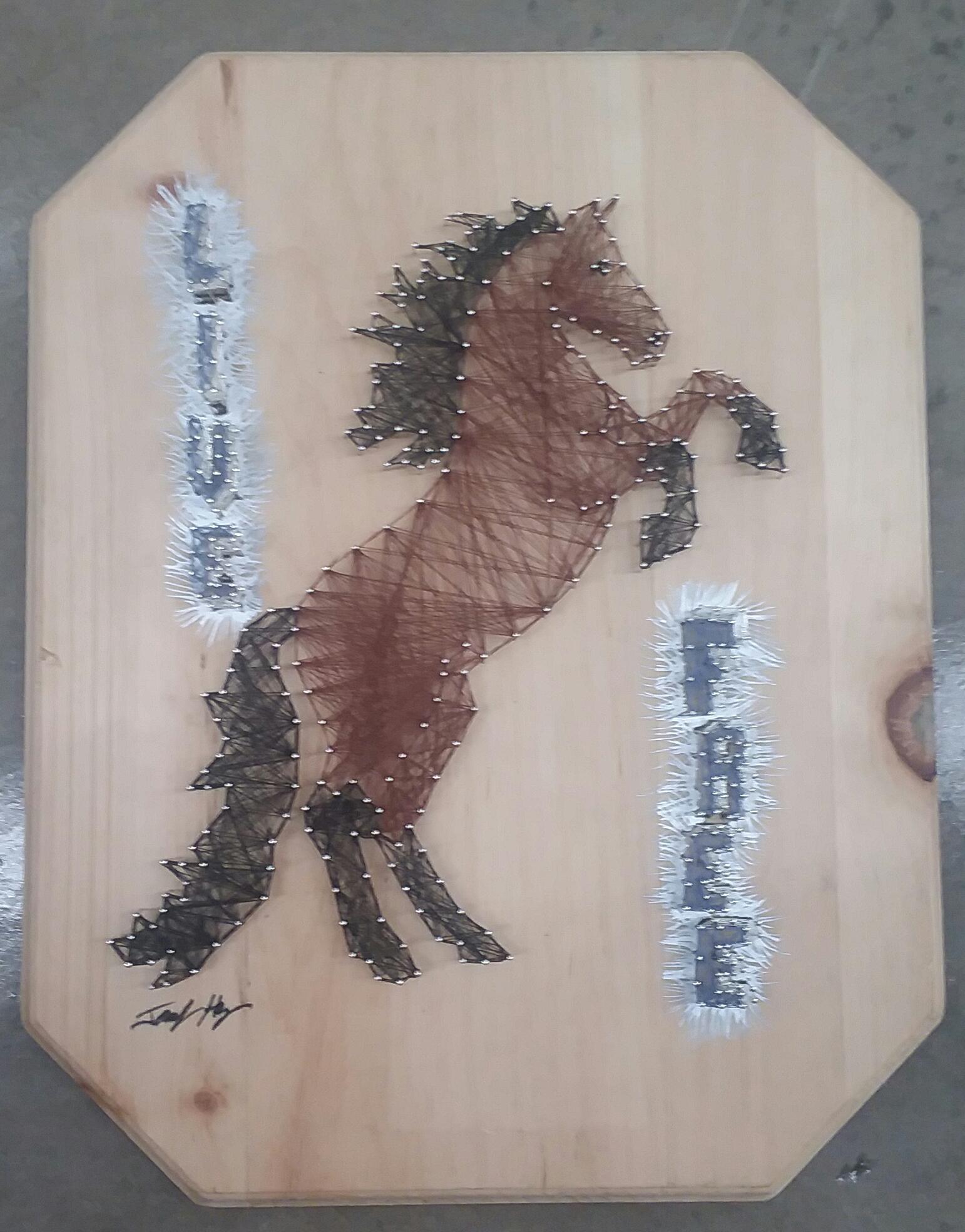 12x14 Horse