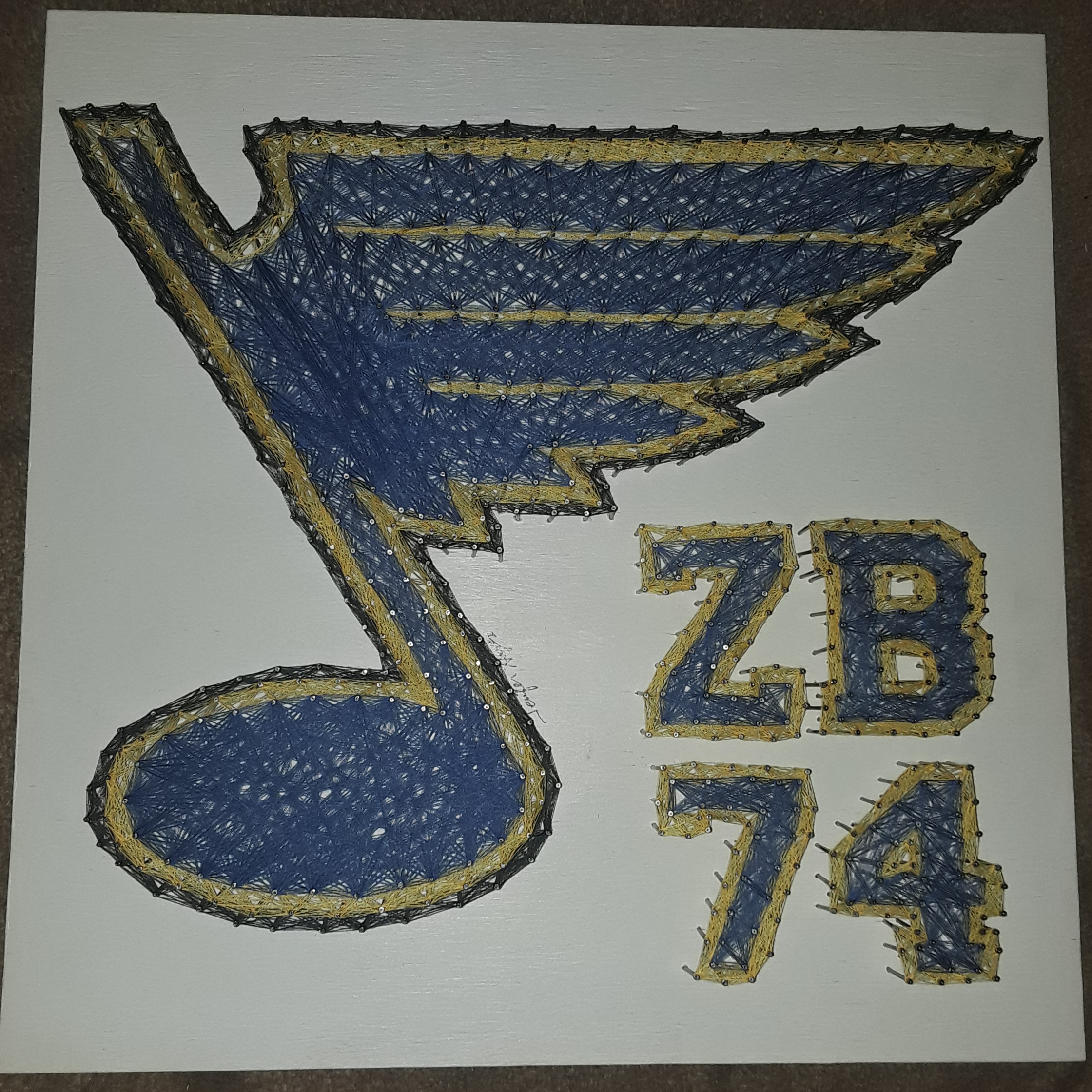 20x20 St. Louis Blues