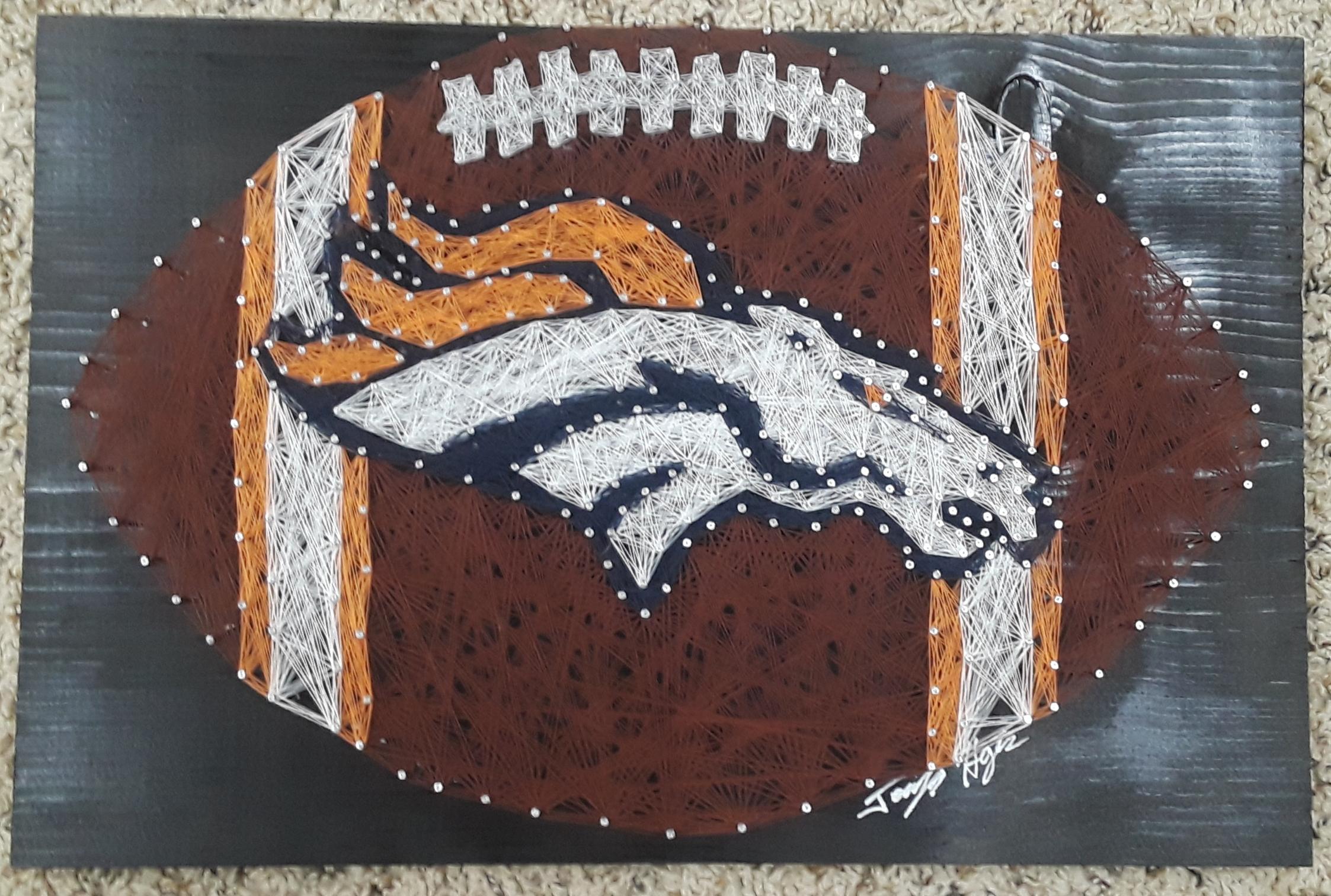 12x17 Broncos