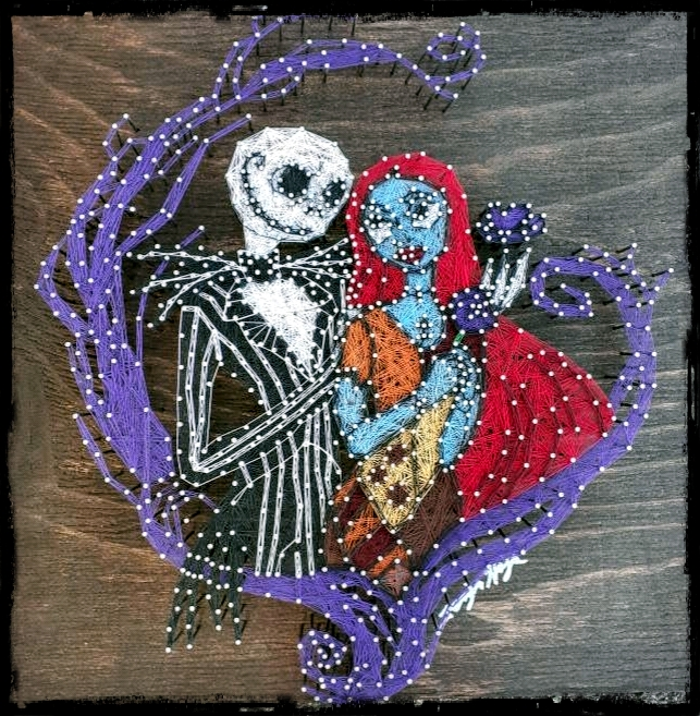 16x16 Jack and Sally