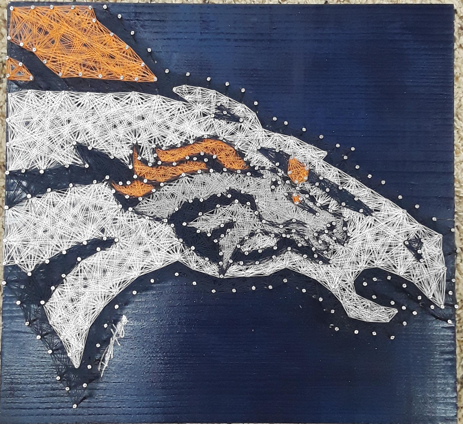12x12 Broncos